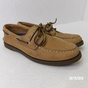 Sperry Top-Sider Women's Boat Shoes 2 Eye Tan